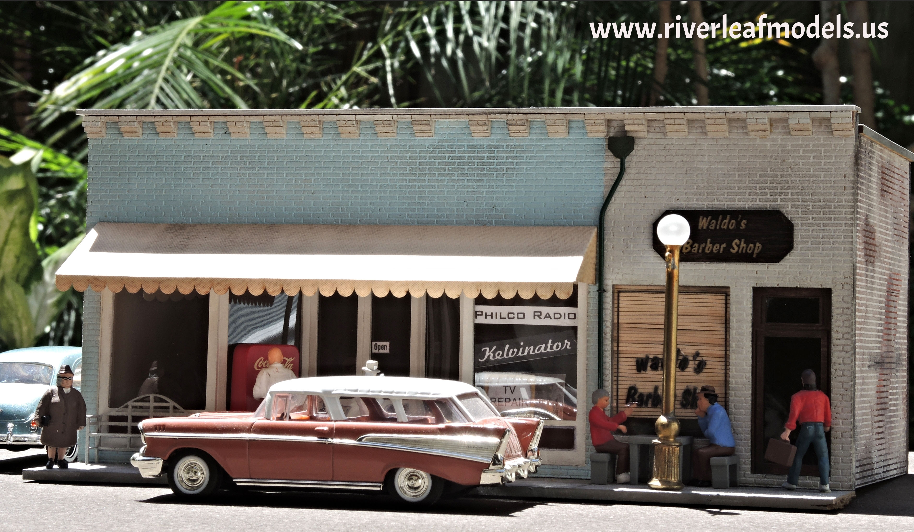 General Appliances And Barber Shop River Leaf Models